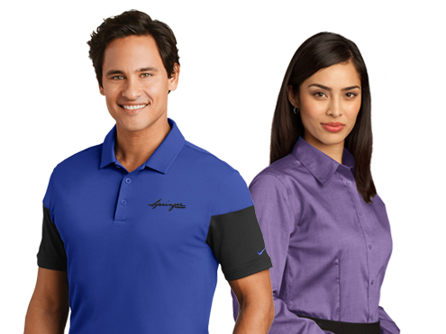Corporate Apparel Sample Store